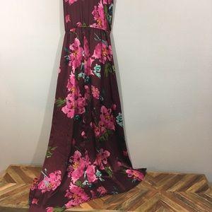 Xhilaration Dresses - Xhiliration Silky Maxi